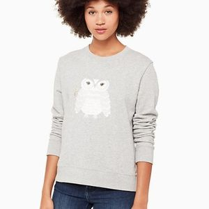 Kate spade owl sweatshirt